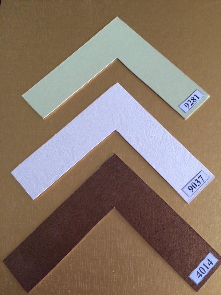 mẫu bo giấy tranh thêu